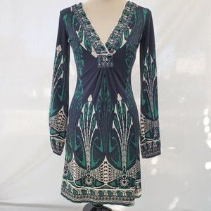 Hale Bob long sleeve dress LIKE NEW size XS